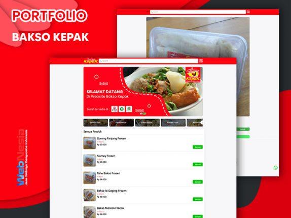 Jasa Website Toko Online Bakso
