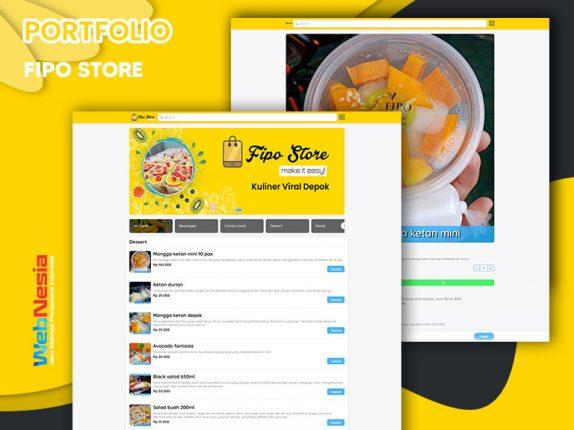 Jasa Website Toko Online Makanan