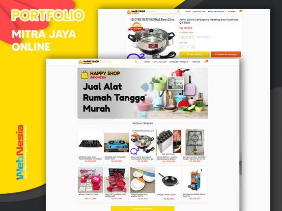 Jasa Website Toko Online Alat Rumah Tangga