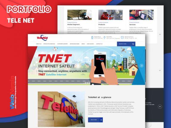 Jasa Website Telekomunikasi Jaringan