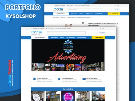 Jasa Website Toko Online Advertising