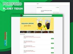 Jasa Website Warung Makan Online