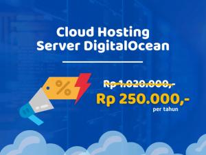 Promo Cloud Hosting DigitalOcean