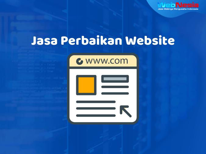 Jasa Perbaikan Website