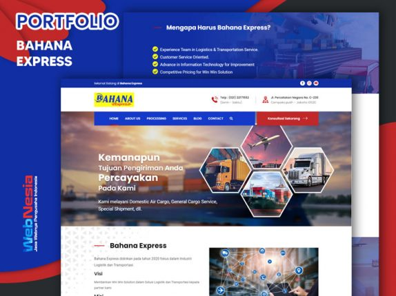 Jasa Website Ekspredisi