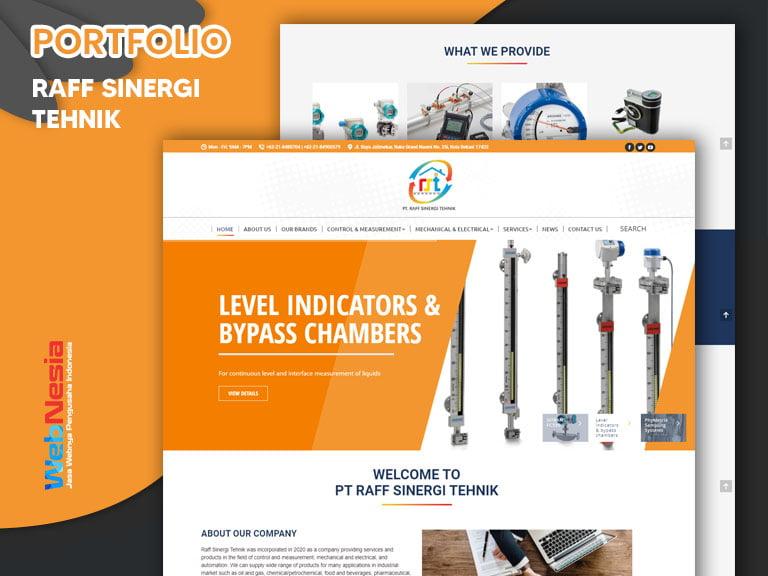 Jasa Website Perusahaan Industri
