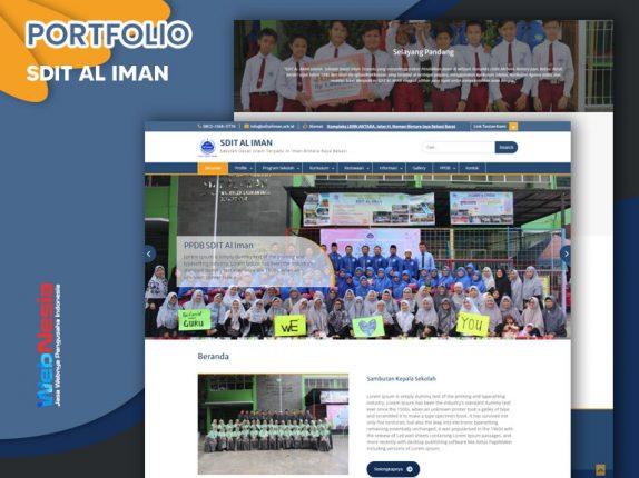 Jasa Website Profil Sekolah