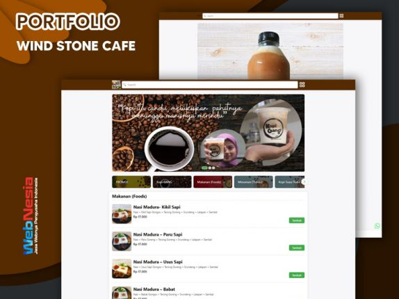 Jasa Website Cafe Kopi