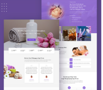 Jasa Landingpage Spa Massage