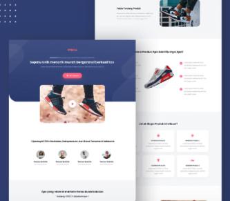 Jasa Landingpage Produk Sepatu