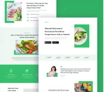 Jasa Landingpage Food Delivery
