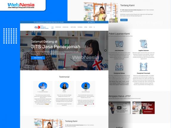 Website Perusahaan Jasa Penerjemah