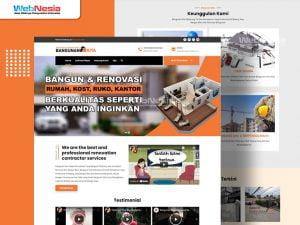 Website Jasa Renovasi Bangunan