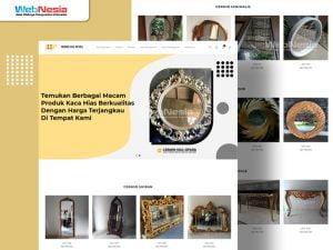 Website Toko Online Cermin Hias