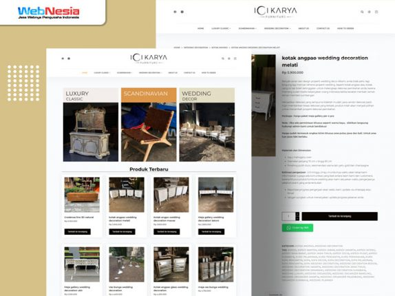 Website Toko Online Furniture
