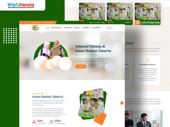 Website Profile Sekolah