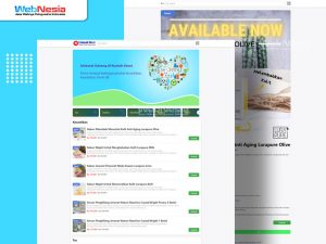 Website Toko Online Whatsapp