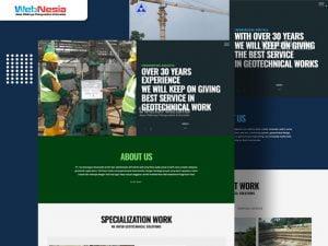 Website Profile Perusahaan Geotechnical