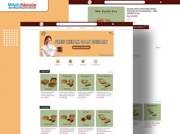 Website Toko Online Kemasan