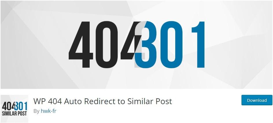 WP 404 Auto Redirect