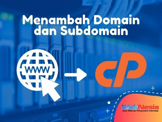 Cara Menambah Domain di cPanel