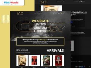 Website Toko Online Lighter