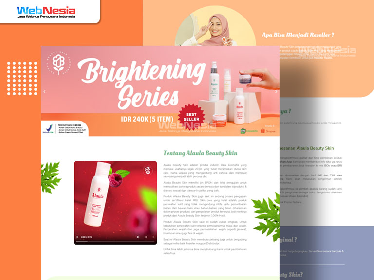 Website Profil Bisnis