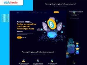 Website Profil Perusahaan Trading