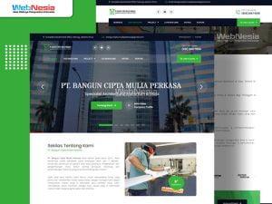 website perusahaan konstruksi