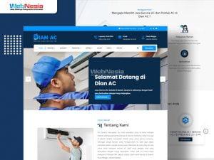 Website Jasa Service AC