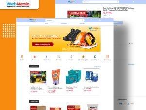 website toko online kebutuhan rumah tangga